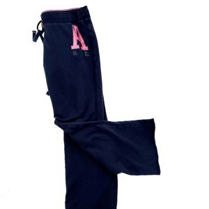 Aeropostal Navy Sweatpants Size Large